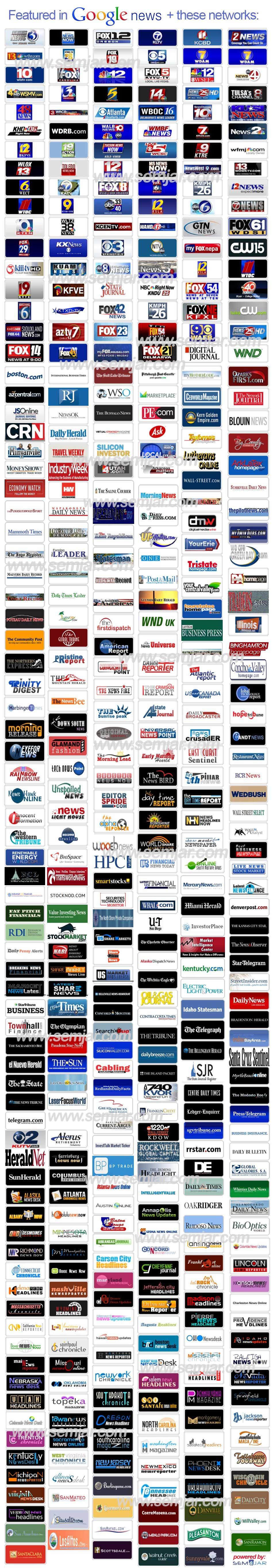 Press Release Distribution network